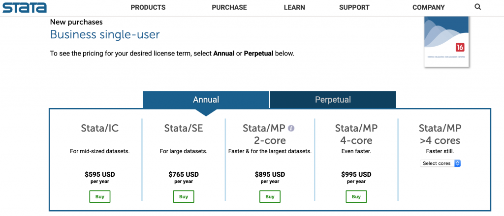 Stata business pricing 1