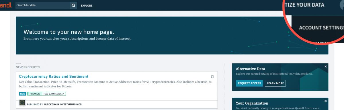 How to Extract Financial Data on Python via API